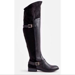 Just Fab Donita Over The Knee Boots NEW